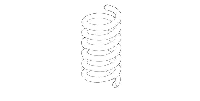 Spring-Front Coil - Mopar (68414069AA)