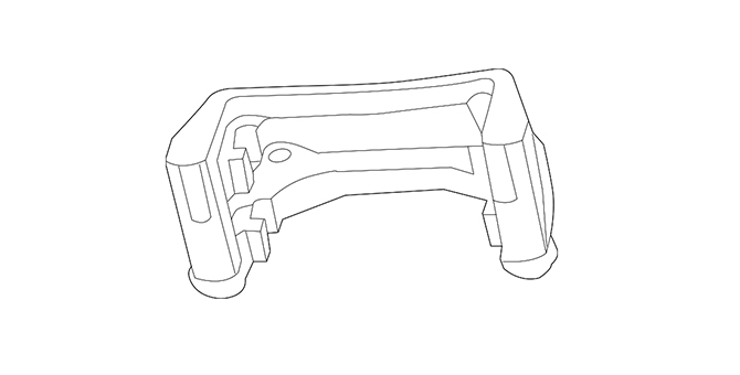 Caliper Assembly - Brake - Less Pad - Ford (HG7Z-2B121-D)