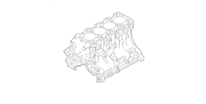 Short Block - Mercedes-Benz (104-010-14-50)