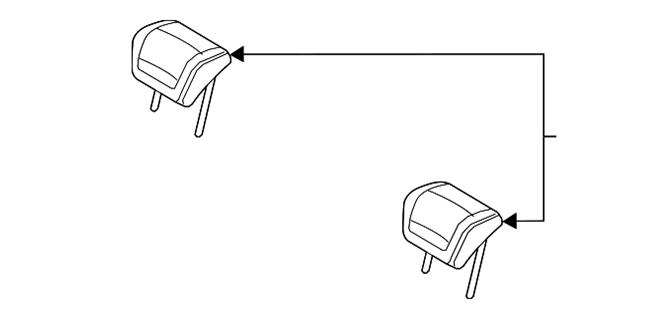 Head Restraint - Volvo (39999028)