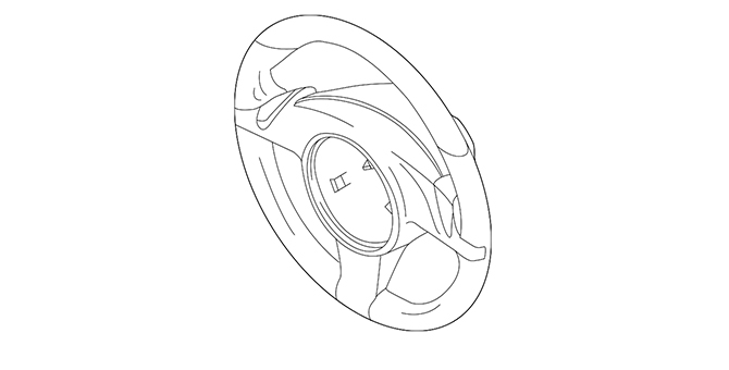 Steering Wheel - GM (23231517)